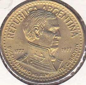 Argentina 5 Peso 1977