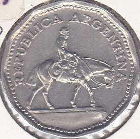 Argentina 10 Pesos 1968
