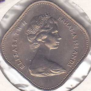 Bahamas 15 Cents 1969
