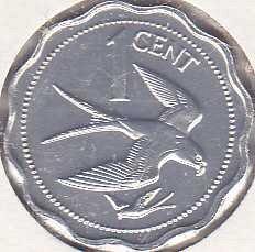 Belize 1 Cent 1977