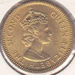 Belize 5 Cents 1973