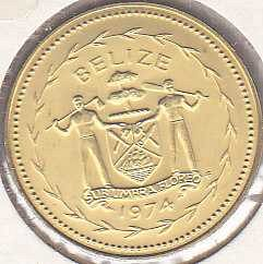 Belize 5 Cents 1974