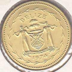 Belize 5 Cents 1974
