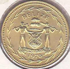 Belize 5 Cents 1976