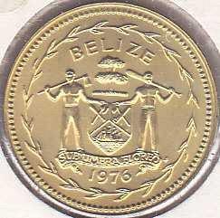Belize 5 Cents 1976