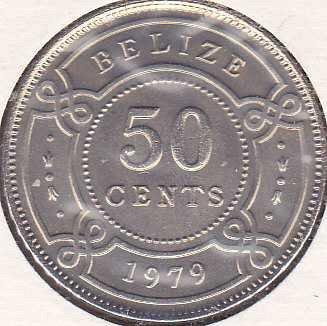 Belize 50 Cents 1979