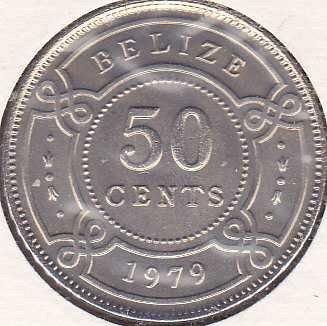 Belize 50 Cents 1979