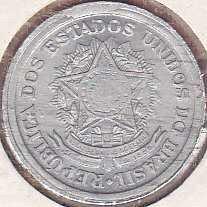 Brazil 10 Centavos 1956