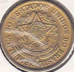 Brazil 2 Cruzeiros 1956