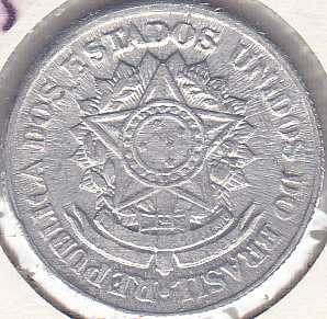 Brazil 2 Cruzeiros 1959