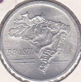 Brazil 10 Cruzeiros 1965