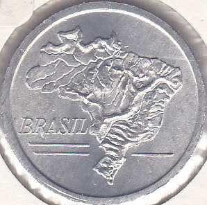 Brazil 20 Cruzeiros 1965