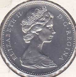 Canada 5 Cents 1967