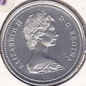 Canada 25 Cents 1973
