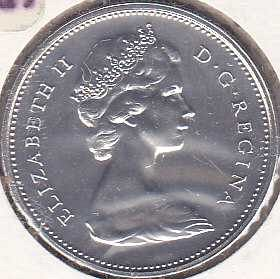 Canada 25 Cents 1978