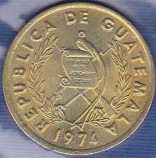Guatemala 1 Centavo 1974