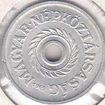 Hungary 2 Filler 1965
