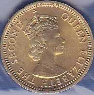 Hong Kong 5 Cents 1971