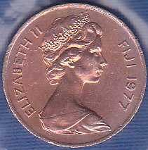 Fiji Islands 1 Cent 1977