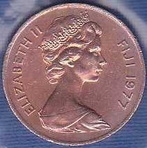 Fiji Islands 1 Cent 1977