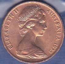 Australia 1 Cent 1973