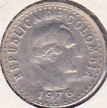 Colombia 10 Centavos 1976