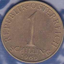Austria 1 Shilling 1969