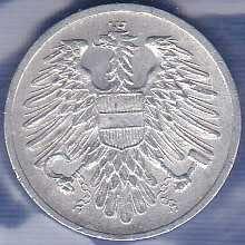 Austria 2 Groschen 1954