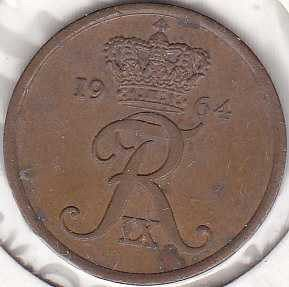 Denmark 5 Ore 1964