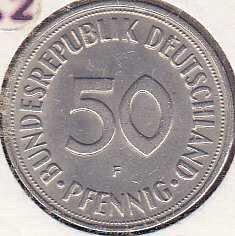 Germany / West 50 Pfennig 1950F