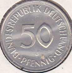 Germany / West 50 Pfennig 1980J