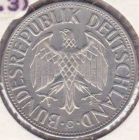 Germany / West 1 Mark 1966G