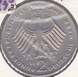 Germany / West 2 Mark 1973G