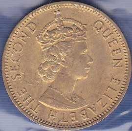 Jamaica 1/2 Penny 1965