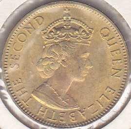 Jamaica 1/2 Penny 1966