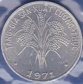 Vietnam 1 Dong 1971