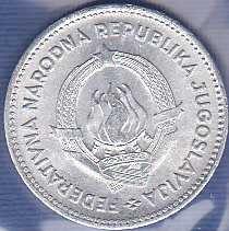 Yugoslavia 50 Para 1953