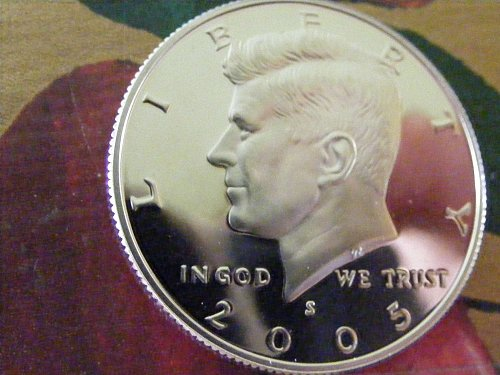 2005 S Kennedy Half Dollars