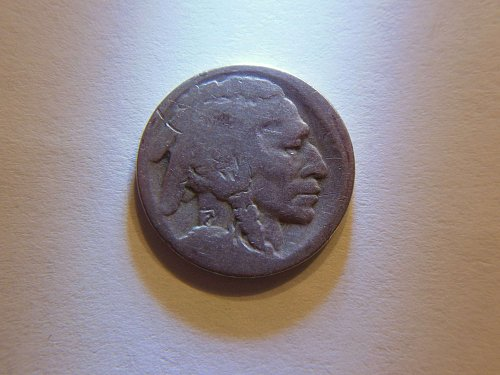 *RARE* 1921-S Buffalo Nickel