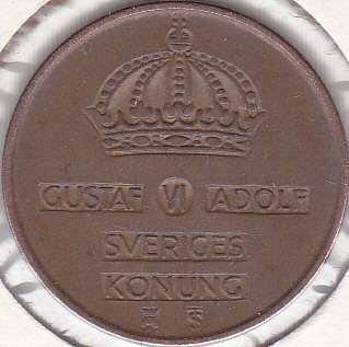Sweden 5 Ore 1956