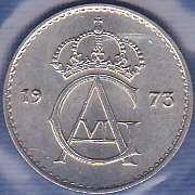 Sweden 10 Ore 1973
