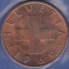 Switzerland 2 Rappen 1969