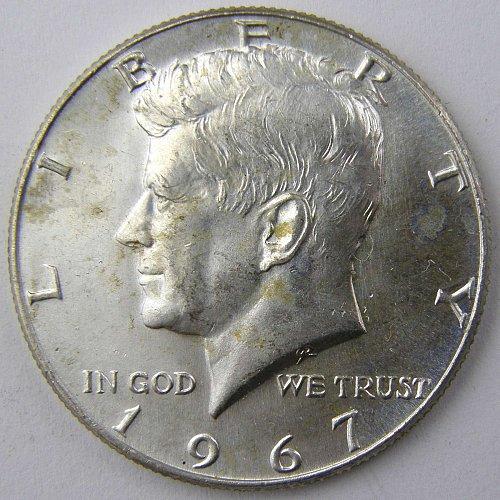 1967 P Kennedy Half Dollar #2