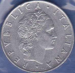 Italy 50 lira 1955
