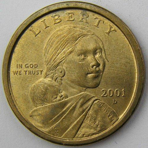 2001 D Sacagawea Dollar