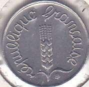 France 1 Centime 1966