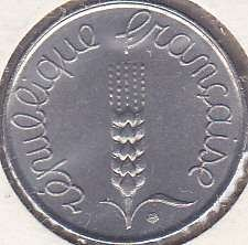 France 5 Centimes 1963