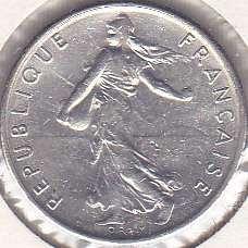 France 1/2 Franc 1971