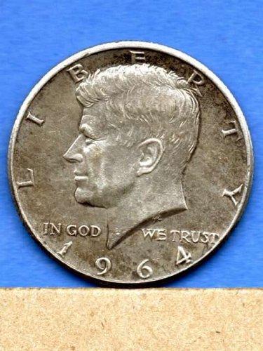 1964 P Silver Kennedy Half Dollar Genuine natural US Coin Money