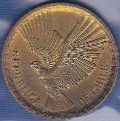 Chile 2 Centavos 1968